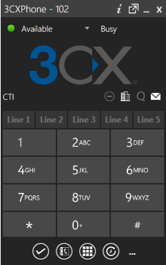 Unified Communications and Presence with 3CXPhone for Windows