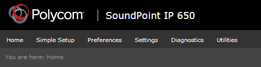 Manually Setup a Polycom SoundPoint for 3CX