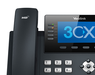 This images shows the BLF functions keys on the Yealink T46 IP phone