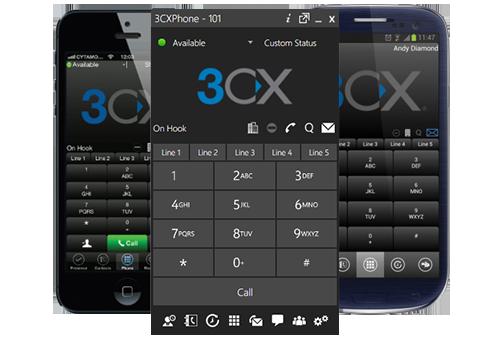 3cx voip client