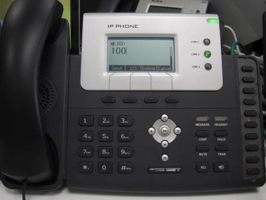 make calls yealink t21 t22 t26
