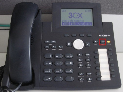 voicemail snom 320 360 370