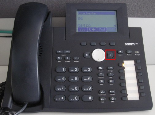 make calls snom 320 360 370