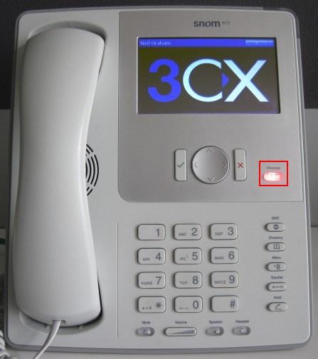 voicemail snom 870