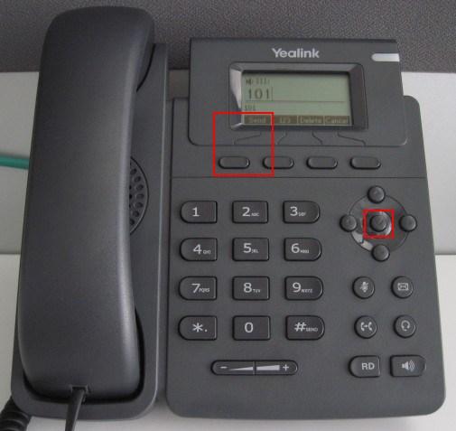 make calls yealink t19