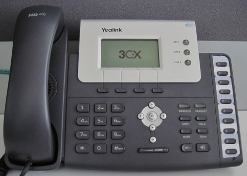 voicemail yealink T21 T22 T26