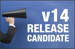 The Release Candidate of 3CX Phone System v14 is ready for trial. This version will most possibly be the release version.