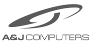 A&J Computers Logo