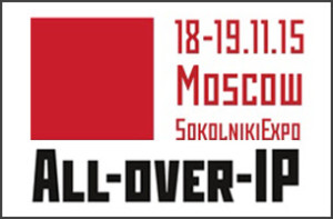 3CX is exhibiting at All-Over-IP in Moscow, 2015