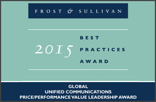 Frost and Sullivan awarded 3CX's PBX for best price/performance