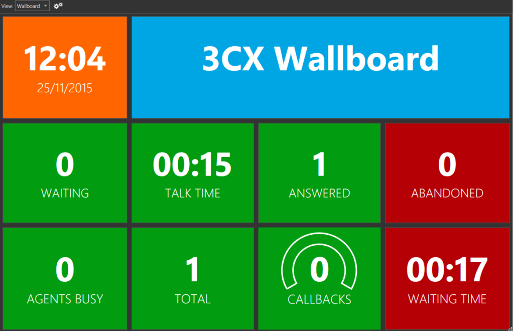 the 3cx wallboard makes call management easy rh 3cx com 3CX Contact Center 3CX Dashboard