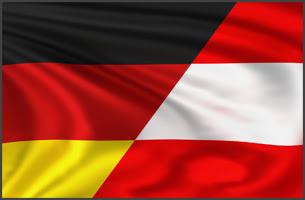 Germany Austria flag