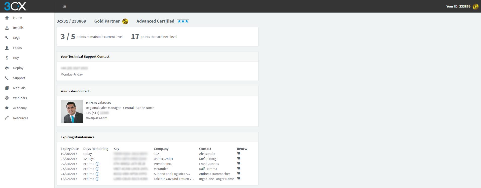 The new 3CX Partner & Customer Portal