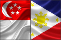 Singapore & Philippine Flag