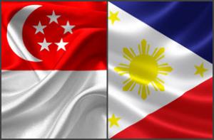 Singapore & Philippine Flag