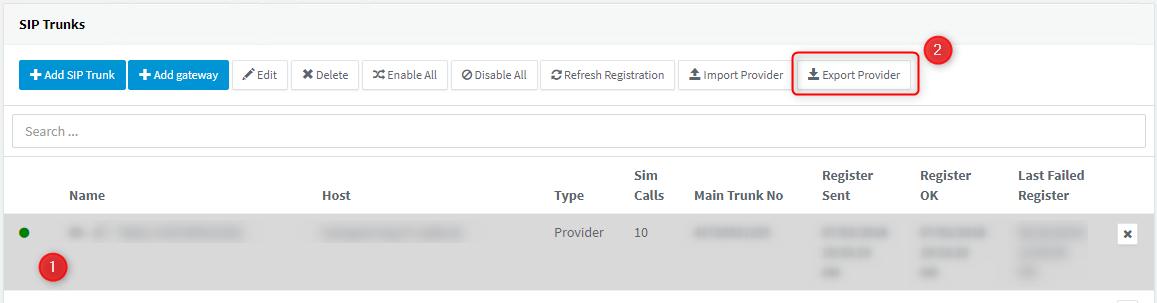 3CX SIP Trunk provider interop