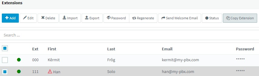 3CX V16 Release Candidate adds the ability to copy
