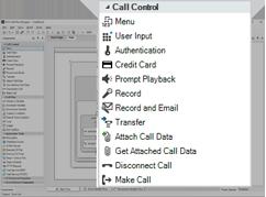 Call Flow Designer - Options