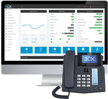 Open Standards Software IP PBX - 3CX
