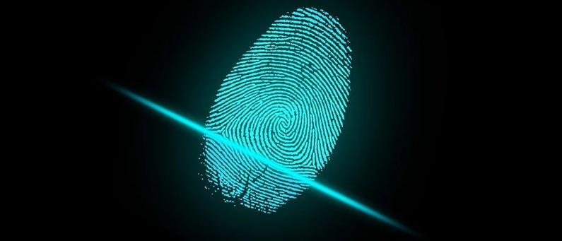 Scan fingerprint to unlock