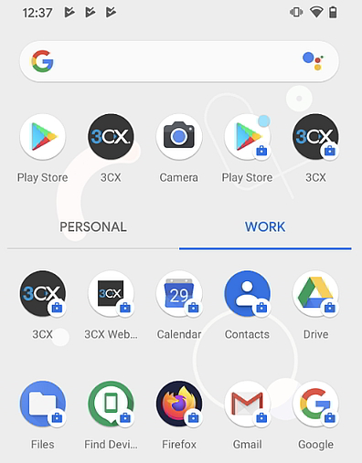 Automatically deployed app on Android devices via G Suite