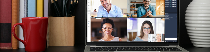 video conference sparingly