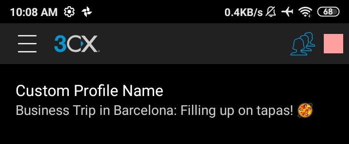 android tips and tricks customize status