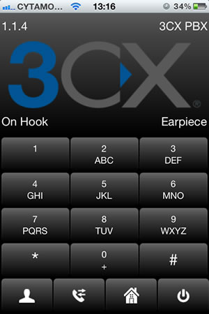 Connect your iPhone to your IP PBX with 3CXPhone for iPhone 1.1.4
