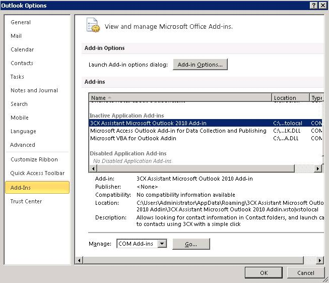 Why two crm addins within outlook? Microsoft dynamics crm community.