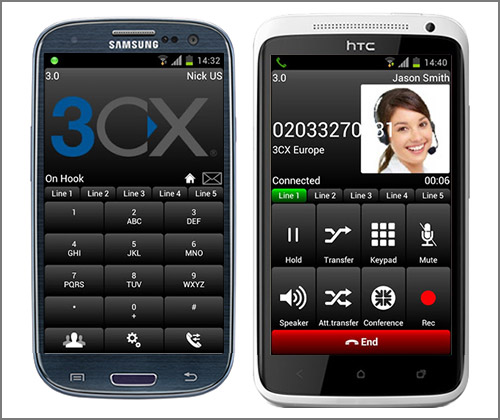 New Android SIP client beta launched - 3CXPhone