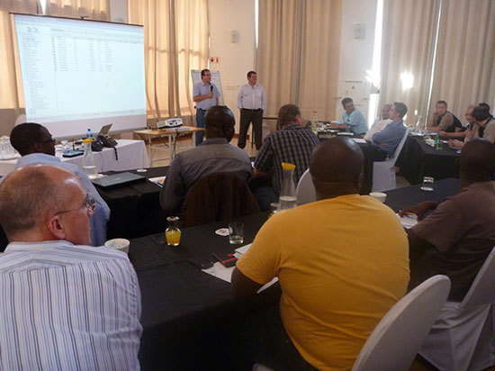Successful 3CX Partner Training Event, November 2012, South Africa